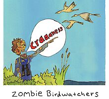 Zombie Birdwatcher Craaanneesss by KenTanakaLovesU