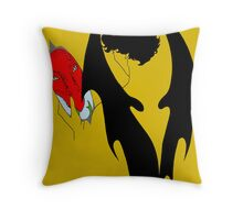 Smauglock Holmes: Reflections of a Consulting Dragon Throw Pillow