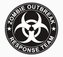 Walking Dead Zombie Response Team Logo Bio Hazard Shirts & Bumper Stickers by sturgils