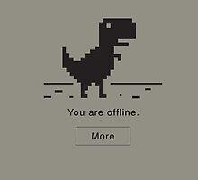 Offline Dinosaur by o2creativeNY
