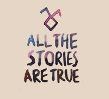 All the stories are true (watercolor) by dictionaried