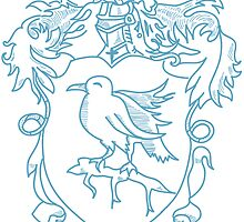 Ravenclaw Crest by Chukii