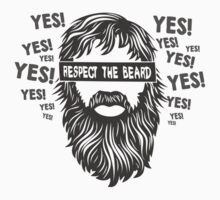 Daniel Bryan Beard tee by Jonald