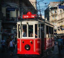 Tramcar by Dobromir Dobrinov