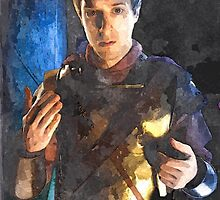 rory water colour by DrWhoJohnSmith