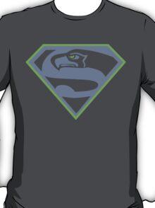 Seattle Seahawks NFL Fans Funny t-shirt Superhawk Limited S-2XL T-Shirt