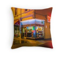 Pellegrinis Espresso Bar Throw Pillow