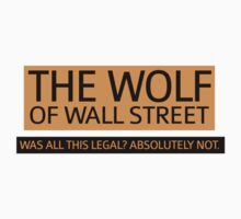 THE WOLF OF WALL STREET by dare-ingdesign