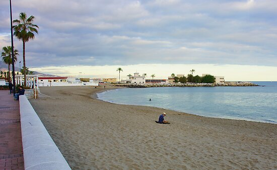 Fuengirola on the Beach by Aase