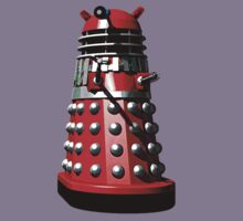 Dalek (Red & Silver) by Sharknose