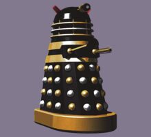 Dalek (Black & SIlver & Gold) by Sharknose