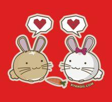 Fuzzballs Bunny Love Carrot Kids Clothes