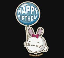 Fuzzballs Happy Birthday Bunny Kids Clothes
