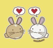 Fuzzballs Bunny Love Kids Clothes