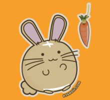 Fuzzballs Bunny Carrot Tease by rabbitbunnies
