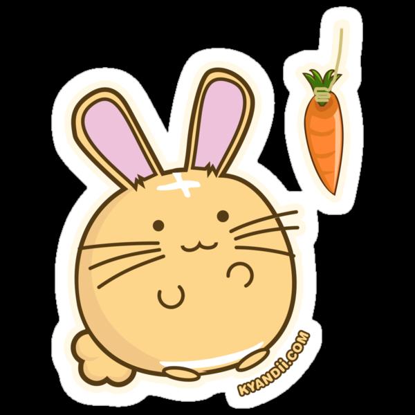 Fuzzballs Bunny Carrot Tease by rabbitbunnies