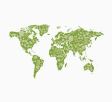 Ecofriendly Map by BrightDesign