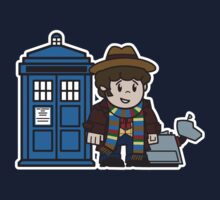 Mitesized 4th Doctor by Nemons