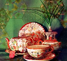 Tea Time by MSRowe Art and Design