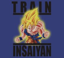 Train Insaiyan - Super Saiyan Goku  by BadrHoussni