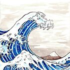 Great Wave Illustration by SS-CREW