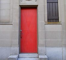 The Red Door  by WildestArt