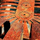 Rusty bench photograph by ThistleandThyme