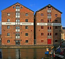 Gloucester Docks by RedHillDigital