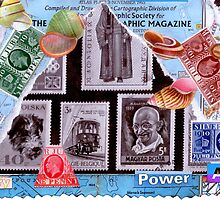 Time Travelers Stamp Card. by - nawroski -