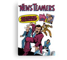 News Team Assemble! Canvas Print