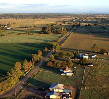 Lockyer Valley Farmland by Wayne  Nixon