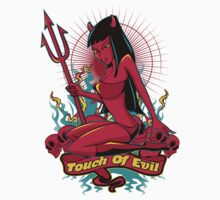 Devil Pin-Up Girl - Touch of evil by Fatline