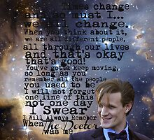 I will always Remember when the Doctor was Me by emilymariee8