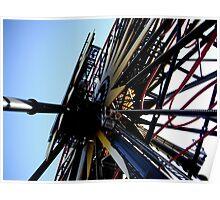 Disneyland Ferris Wheel Poster