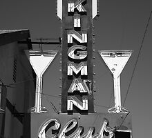 Route 66 - Kingman Club by Frank Romeo