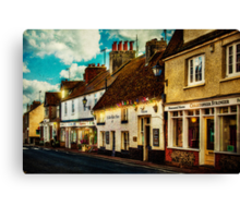 The High Street Canvas Print