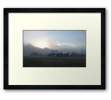 Sunrise at Sedgefield Framed Print
