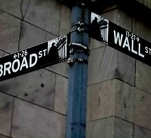 Broad and Wall Street by Sarah Miller