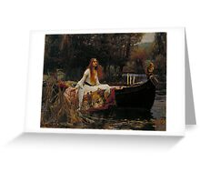 John William Waterhouse - The Lady of Shalott Greeting Card