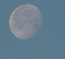 Sunday Morning Moon 4 by dge357
