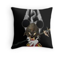 Birth by Dragon Throw Pillow