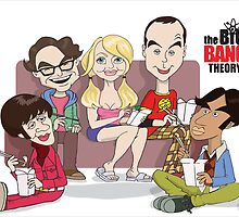 The Big Bang Theory by Greg Vercoe