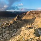 Alport Castles Panoramic by James Grant