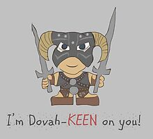 Skyrim Valentines: I'm Dovah-Keen on You by Alice Edwards