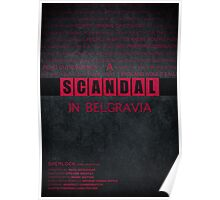 A Scandal in Belgravia fan poster Poster