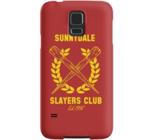 Sunnydale Slayers Club Samsung Galaxy Case/Skin