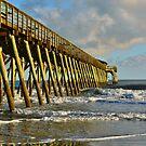 Springmaid Pier by Kathy Baccari