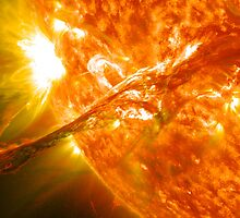 Coronal Mass Ejection Event from the Sun by cadellin