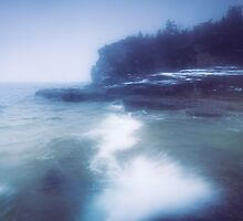 Snow storm at Georgian Bay art photo print by ArtNudePhotos