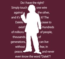 4th doctor quote shirt by sasukex125